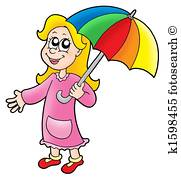 181x179 Umbrella Girl Illustrations And Clip Art. 1,067 Umbrella Girl
