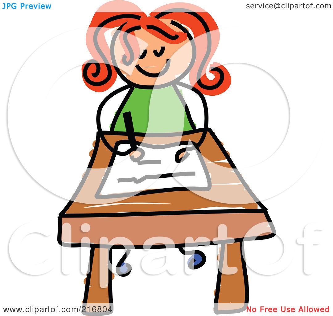 1080x1024 Little Girl Writing Clipart Clipart Panda