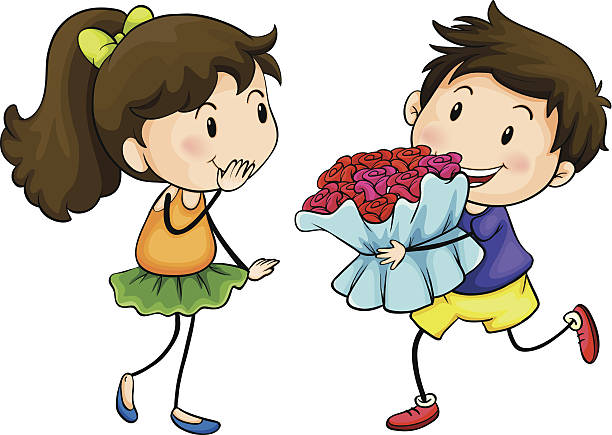 612x435 Romantic Clipart Girlfriend