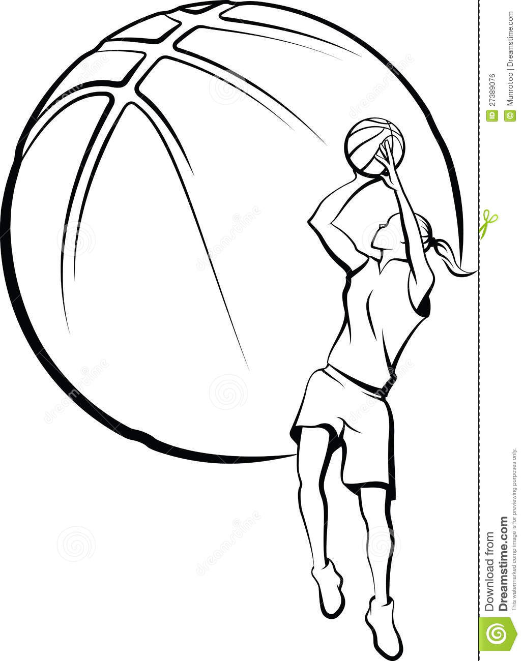 1030x1300 Basketball Black And White Abstract Clipart