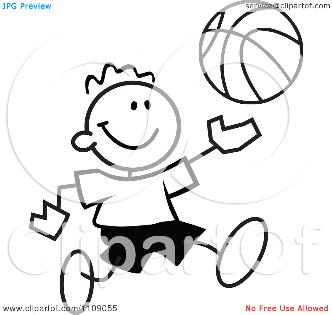 1080x1024 Basketball Player Clipart Black And White Clipart Panda