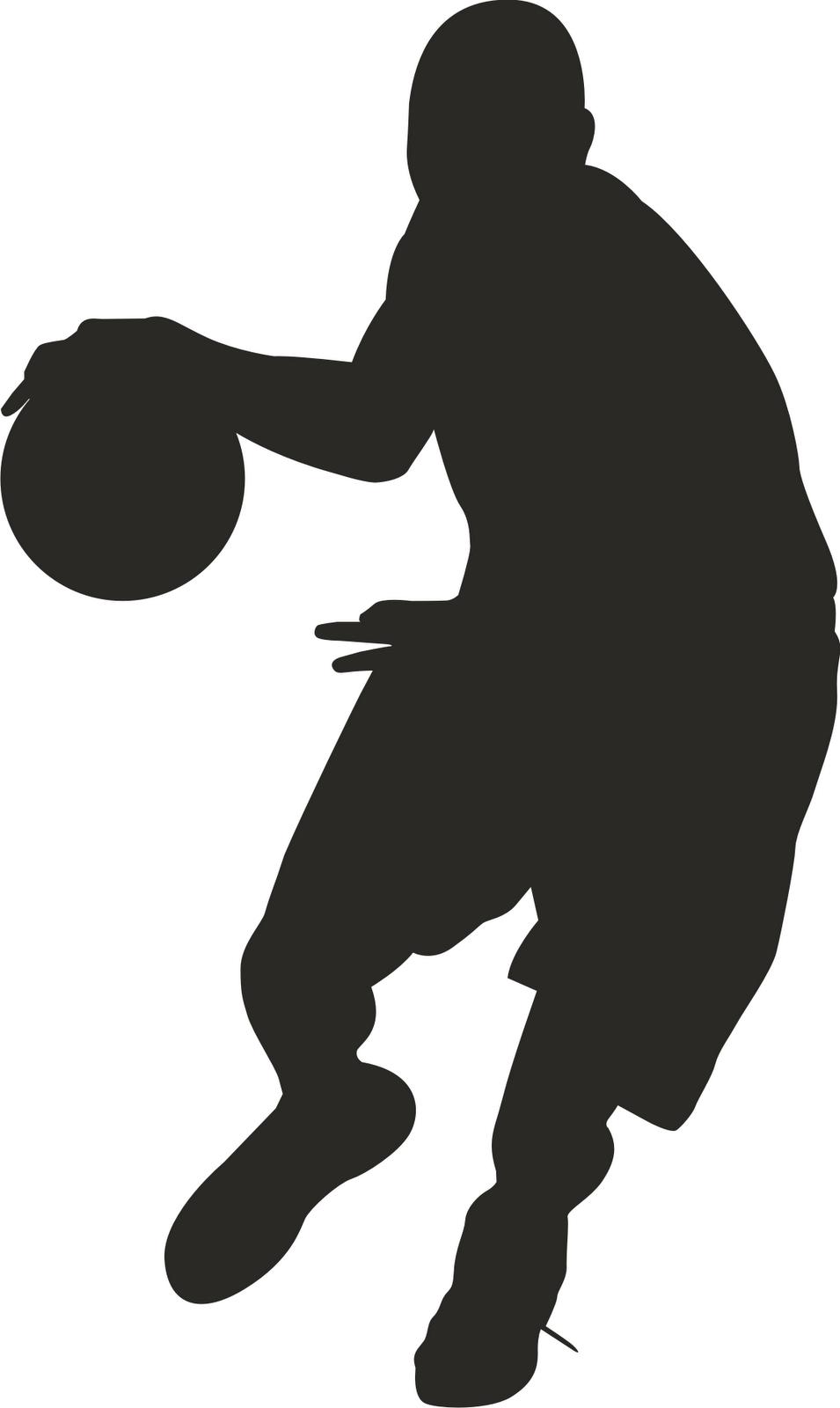 955x1600 Clipart Basketball Players Clipart Panda