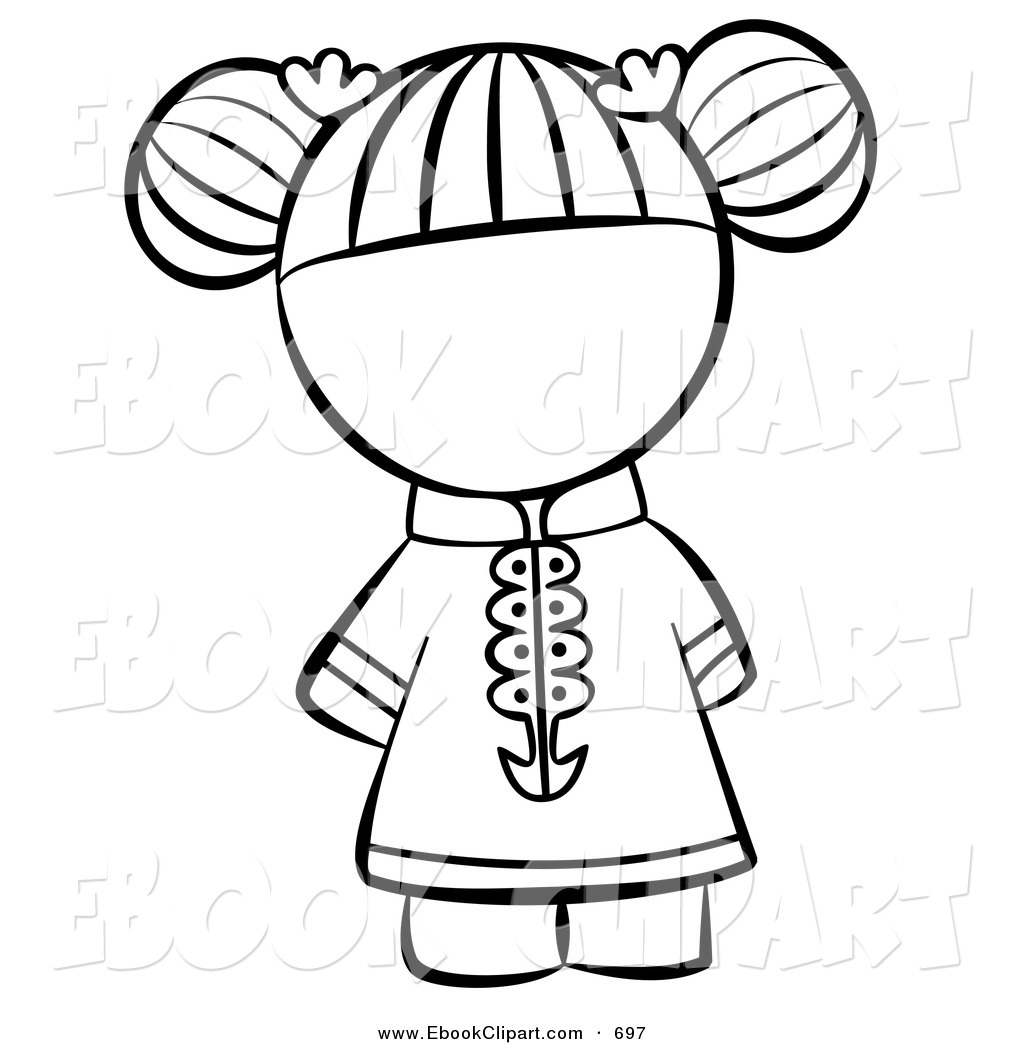 1024x1044 Chinese Clipart Black And White