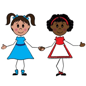 300x300 Girl Clip Art Cartoon Free Clipart Images 6