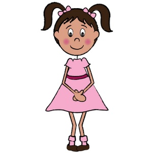 300x300 Girl Clipart Free Images 5