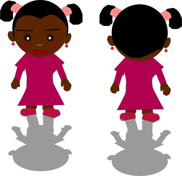 600x582 Ricardo Black Girl Png Clip Art Free Vector In Open Office Drawing
