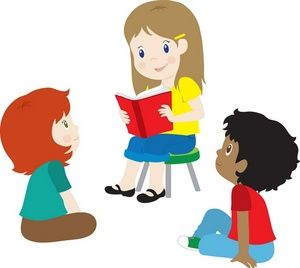 300x268 Story Time Clip Art