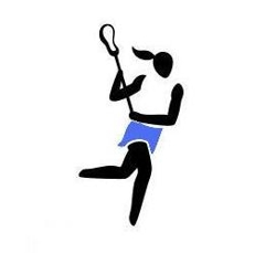 250x229 Womens Lacrosse Sticks Clipart Image