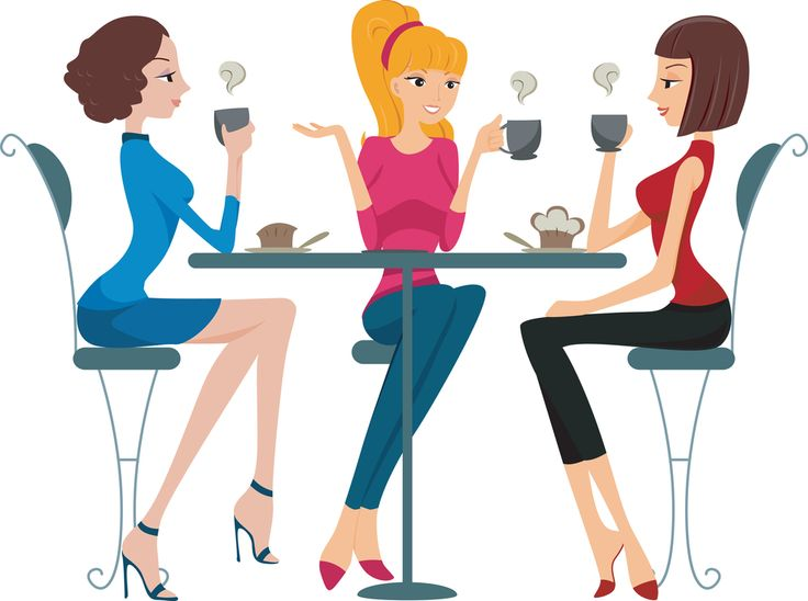 736x548 Ladies Night Out Clip Art