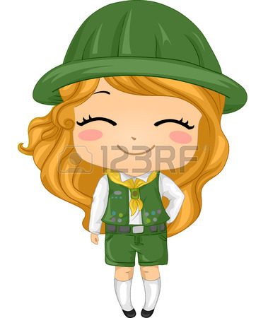 379x450 824 Girl Scout Cliparts, Stock Vector And Royalty Free Girl Scout