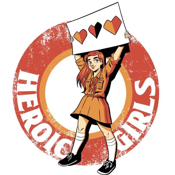 600x600 Heroic Girls Scout T Shirt