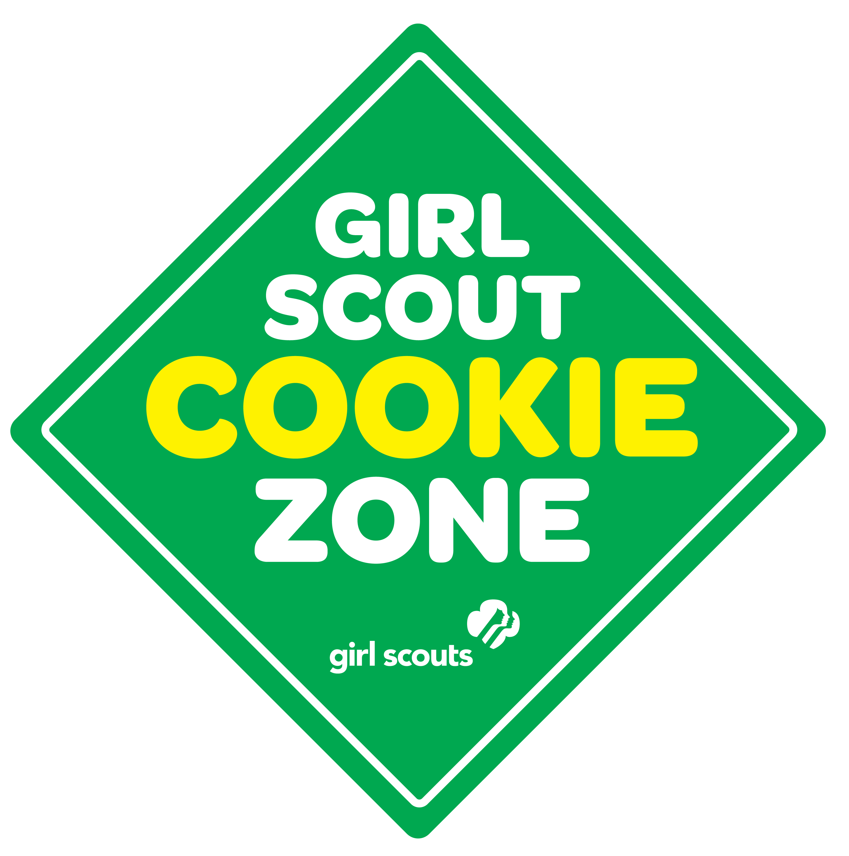 3348x3378 Girl Scout Cookie Thank You Clipart