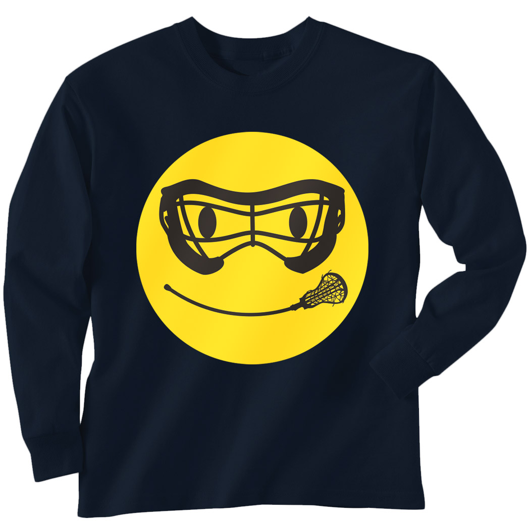 1050x1050 Girls Lacrosse Long Sleeve T Shirt
