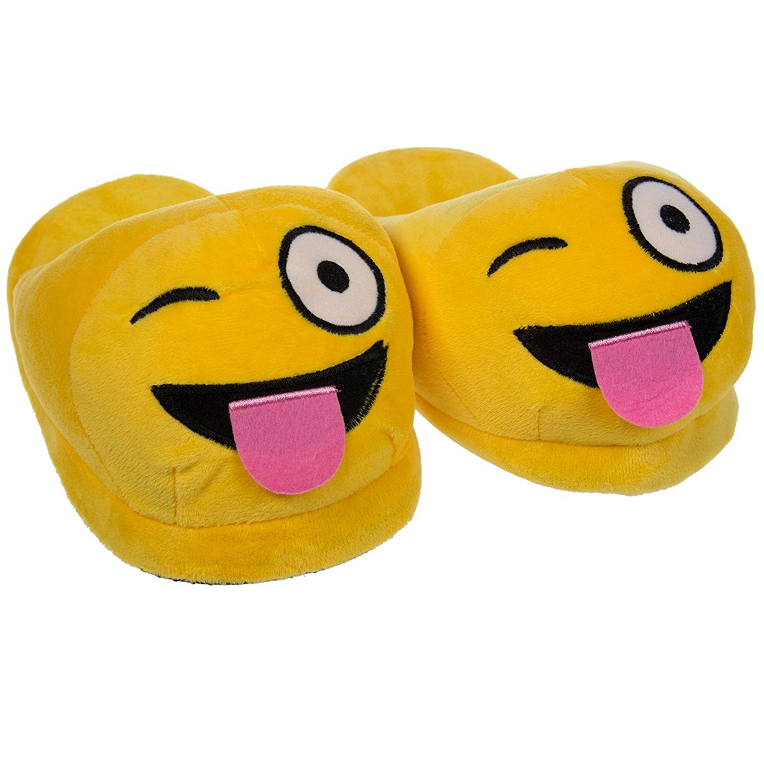 1500x1500 One Size Fits All Warm And Cozy Emoji Slippers