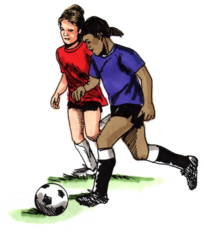 1301x1500 Girls Football Clipart Amp Girls Football Clip Art Images