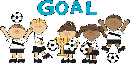500x247 Kids Soccer Clipart