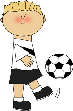 236x360 Blonde Clipart Soccer Player