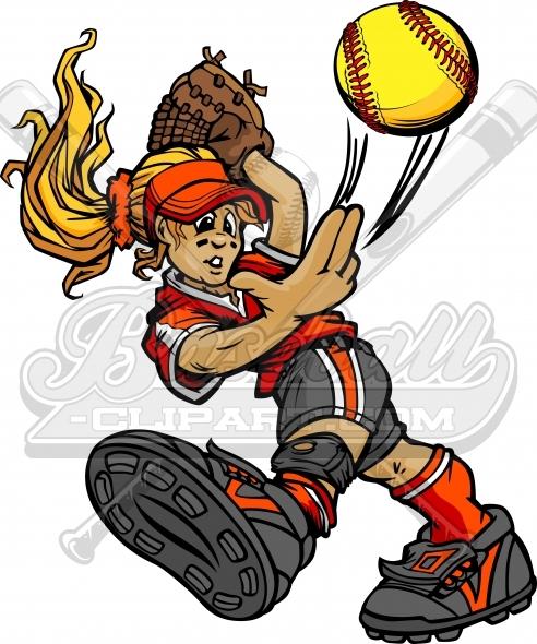 492x590 Pitcher Clipart Fastpitch Softball