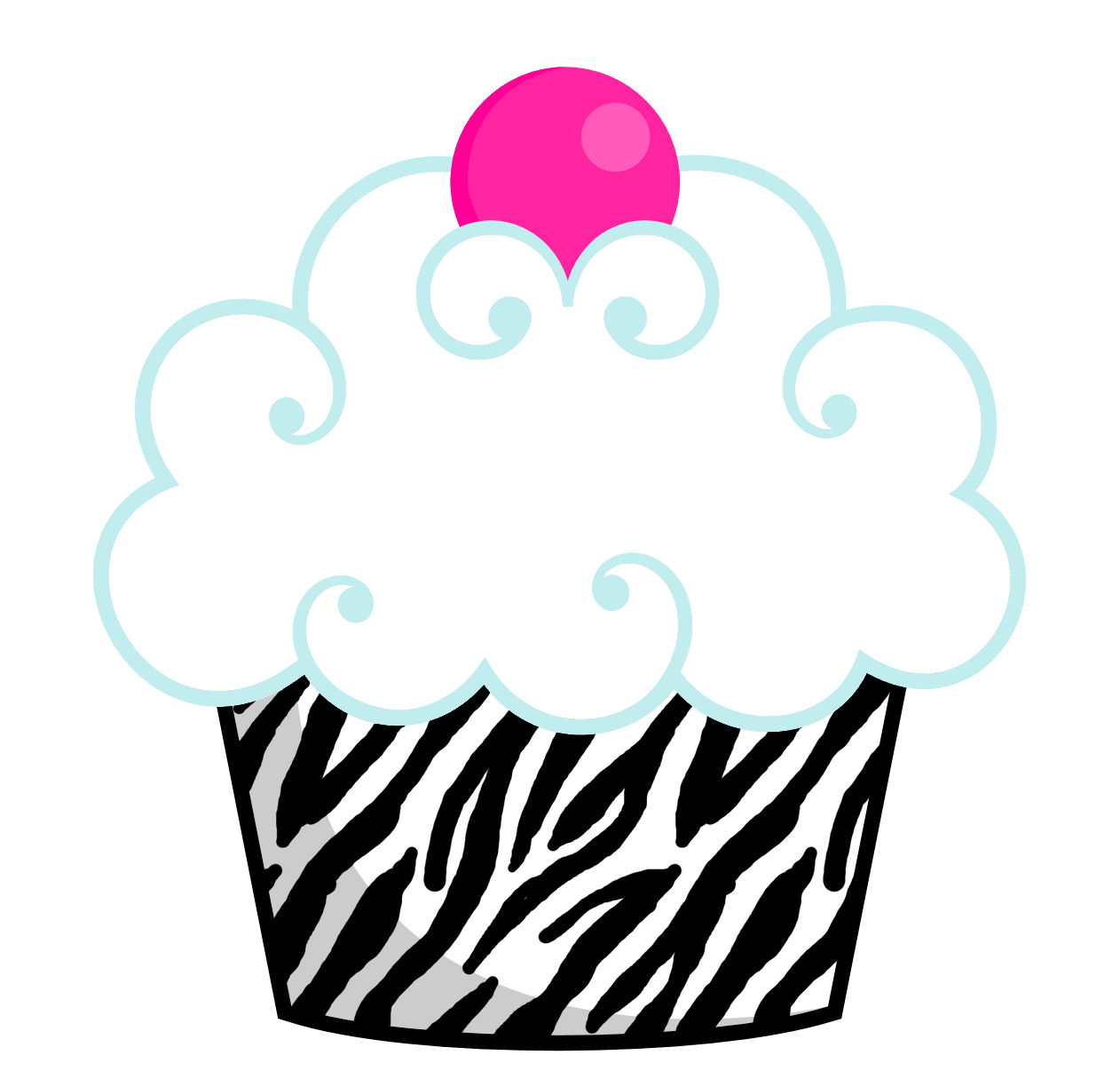 1262x1215 Cupcake Clipart Girly