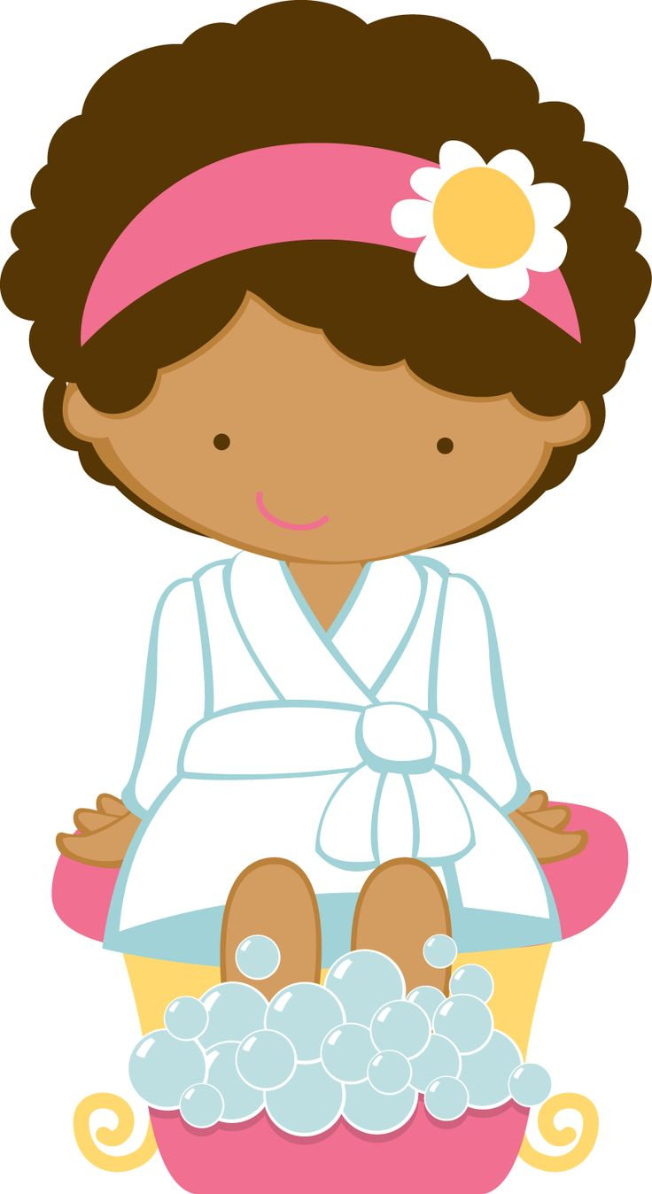 736x1348 Girly Spa Clipart