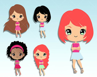 340x270 Girly Clipart Etsy