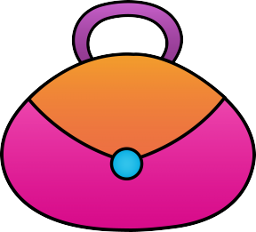 288x261 Purse Clipart Girly