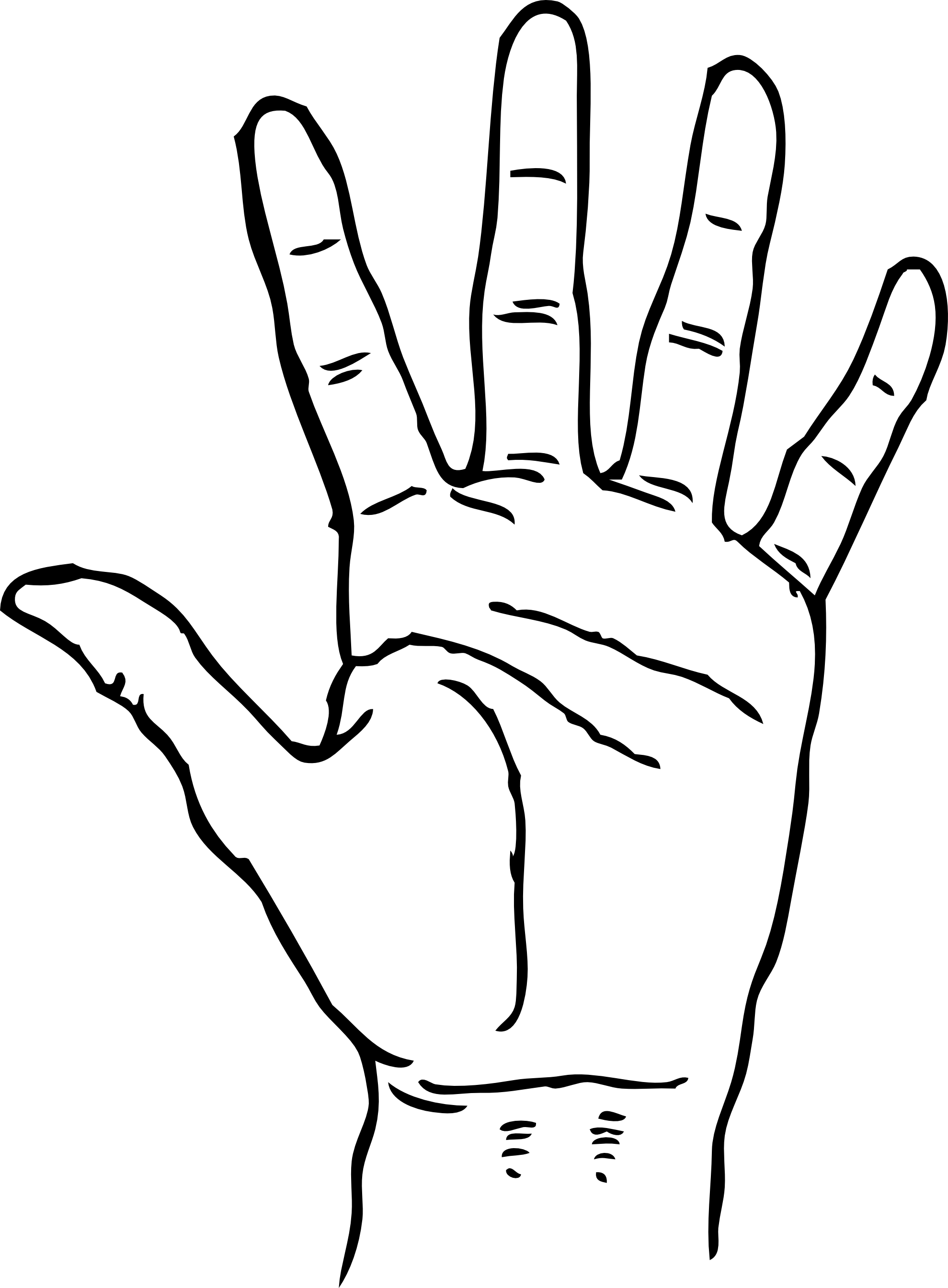 1979x2689 Color Clipart Helping Hand