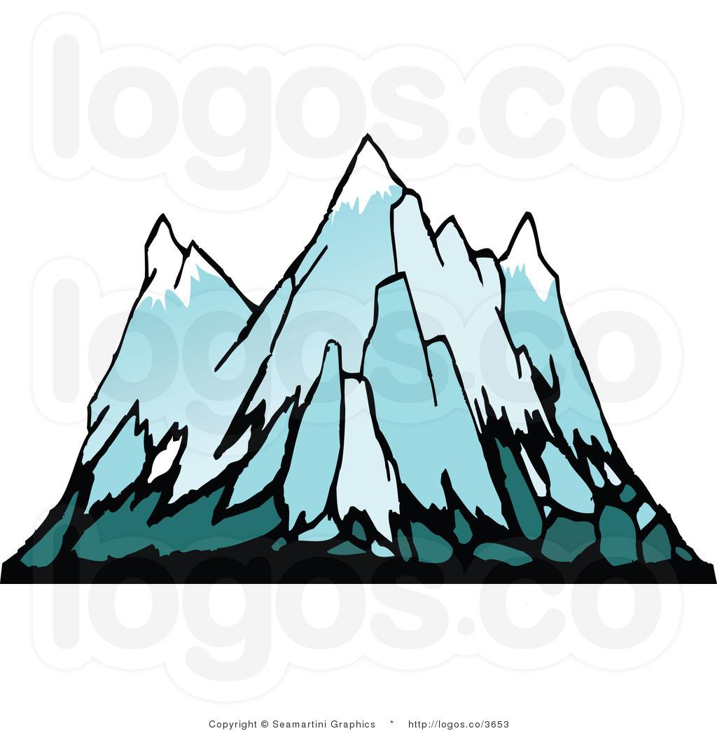 1024x1044 Glacier Clipart Snowy Mountains