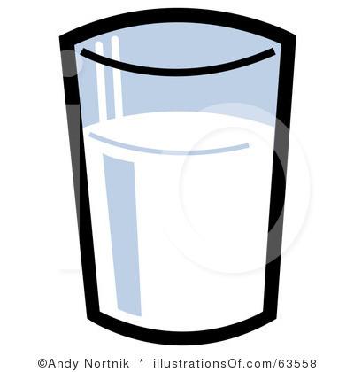 400x420 Milk Clipart Glass Milk