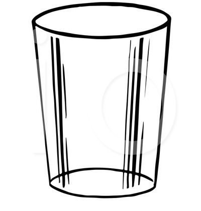 Glass Clipart Black And White | Free download best Glass ...