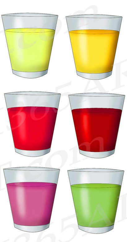 Glass Of Juice Clipart
