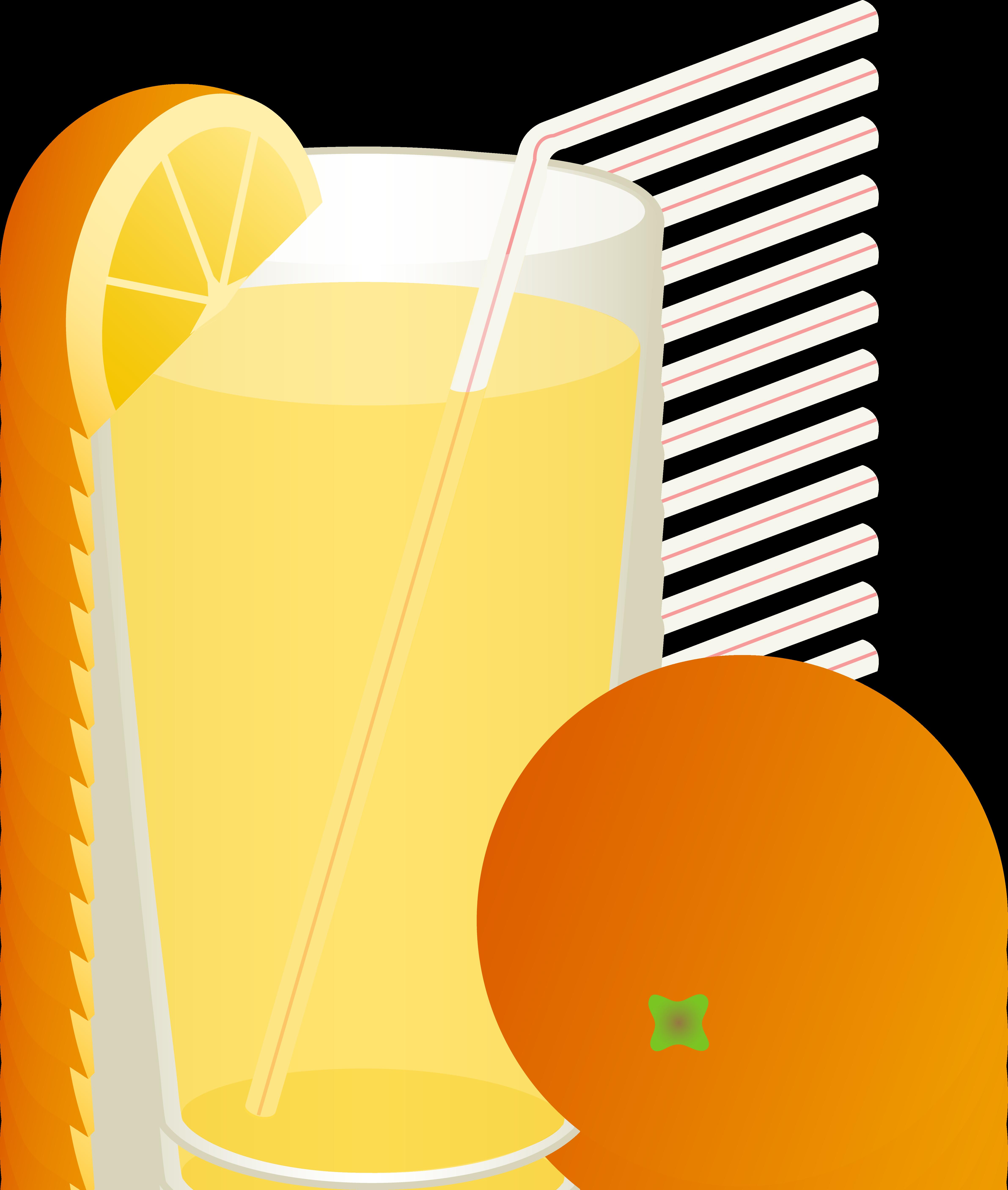 4766x5628 Glass Of Orange Juice With Straw