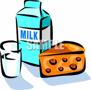 Glass Of Milk Clipart