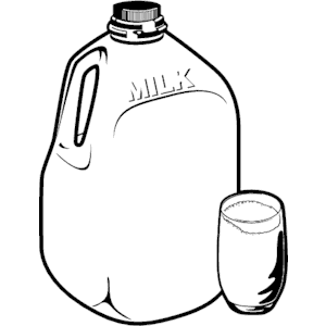 300x300 Milk Jug Glass Frame Clipart, Cliparts Of Milk Jug Glass Frame