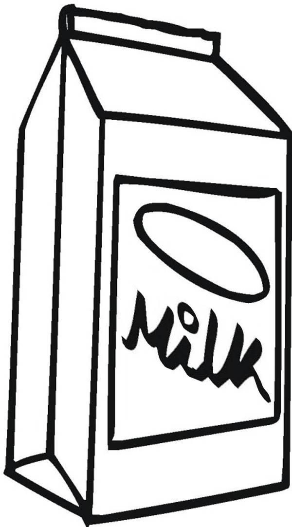 600x1083 How To Draw Milk Carton