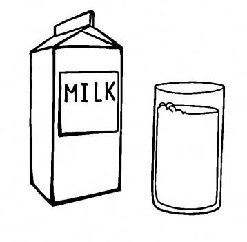 358x350 Glass Of Milk Drawing 93 Clipart Panda
