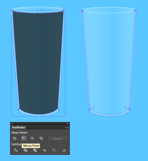 600x656 Create A Detailed Glass Of Milk And Cookies In Adobe Illustrator