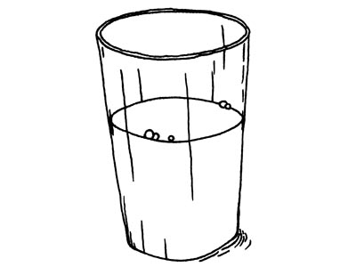 400x300 Drawing Clipart Glass