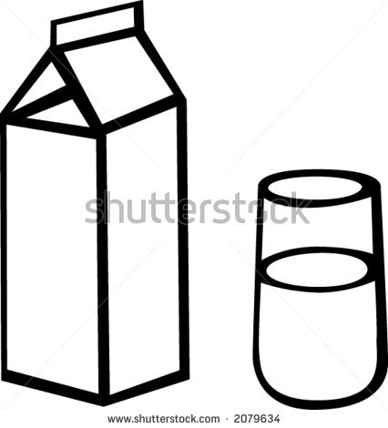 426x470 Drawn Glass Chocolate Milk