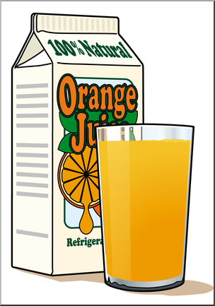 304x433 Clip Art Orange Juice Color I Abcteach
