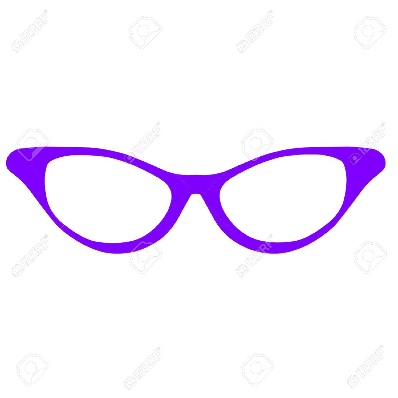 1300x1300 Horn Rimmed Glasses Clip Art Clipart