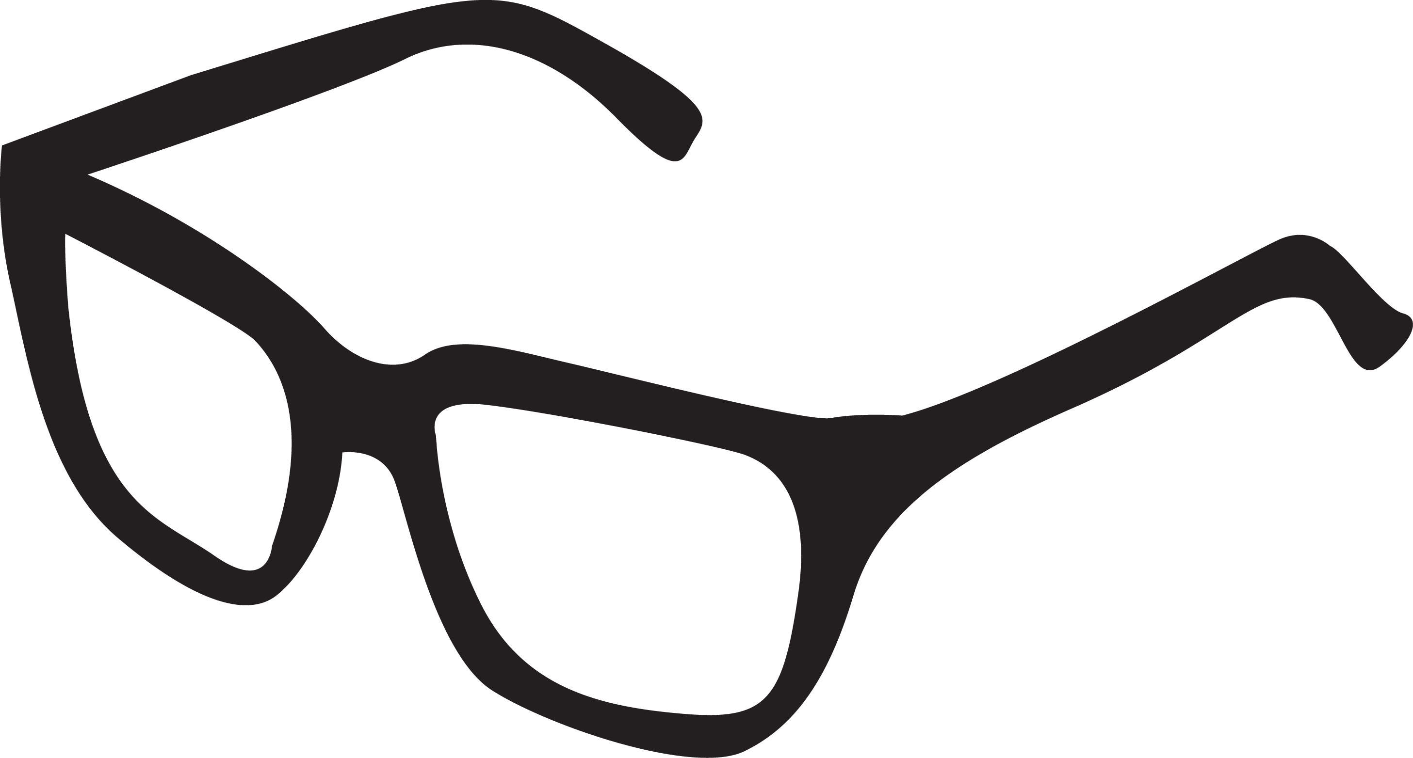 2913x1564 Drawn Glasses Transparent