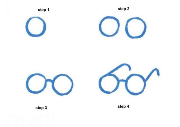 620x438 How To Draw A Pair Of Glasses