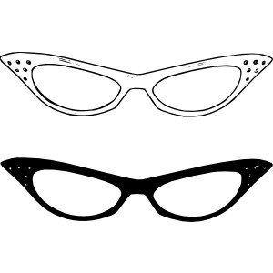 300x300 Clipart Drawing Of Glasses With Eyes