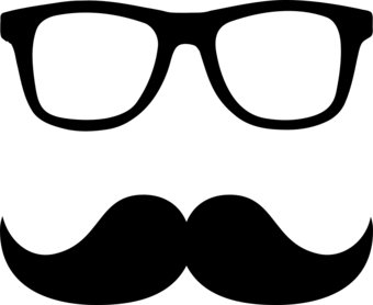 340x278 Nerd%20glasses%20with%20mustache Templates Amp Printables