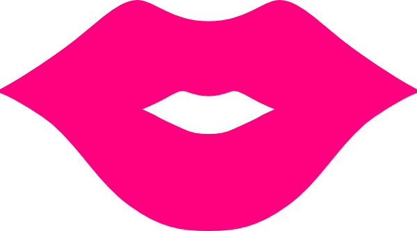 600x333 Kissing Clipart Pink Glitter