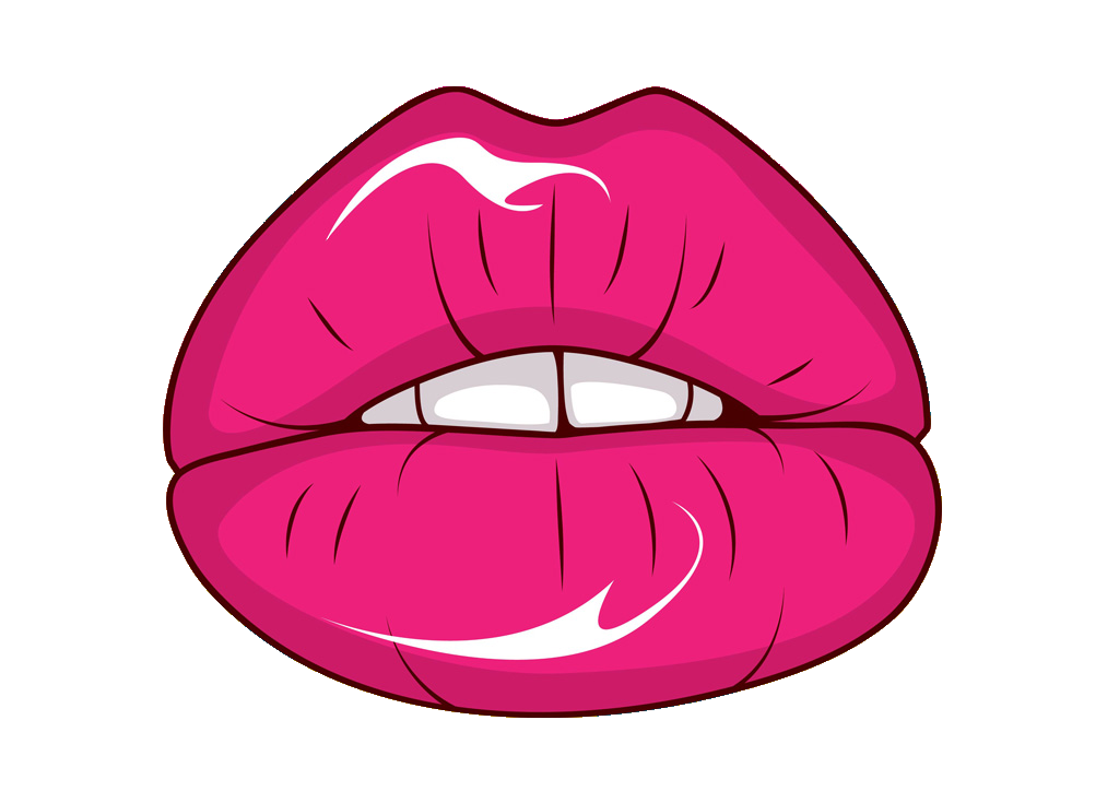 1024x724 Lips Clipart Hot Pink
