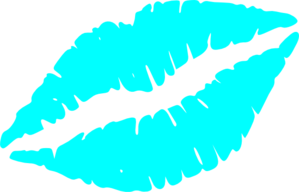 299x192 Lips Clipart Teal
