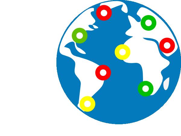 600x452 Global Icon Clip Art