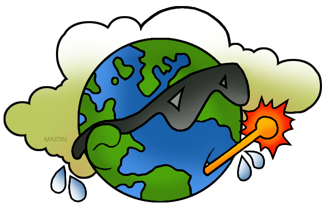 648x407 Science Clip Art By Phillip Martin, Global Warming